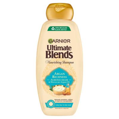 Garnier Ultimate Blends Argan Oil & Almond Cream Dry Hair Shampoo