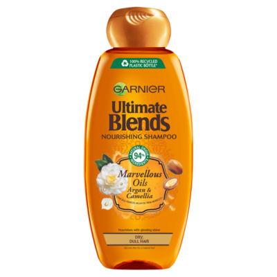 Garnier Ultimate Blends Argan Oil Shiny Hair Shampoo