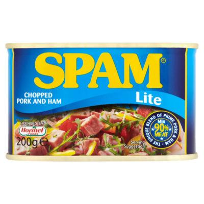 Spam Lite Chopped Ham and Pork