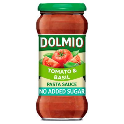Dolmio No Added Sugar Tomato & Basil Pasta Sauce
