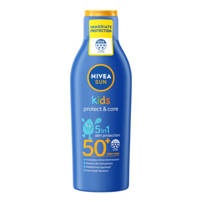 Nivea Sun Kids Suncream Lotion SPF 50+ Protect & Moisture