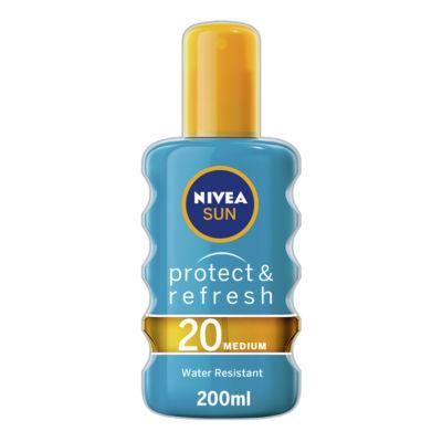 Nivea Sun Cooling Suncream Spray SPF 20 Protect & Refresh