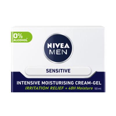 Nivea Men Sensitive Intensive Moisturising Cream-Gel