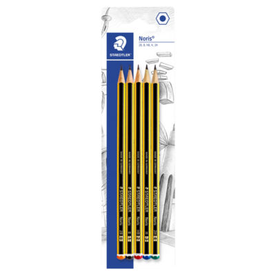 Staedtler Noris Graded Pencils 5 Pack