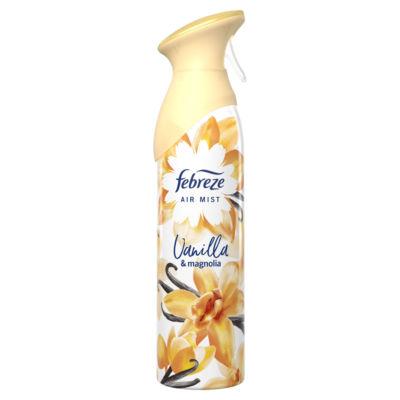 Febreze Air Freshener Aerosol Spray Vanilla