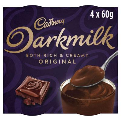 Cadbury Dark Milk Chocolate Smooth Desserts