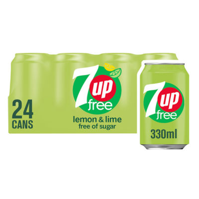 7UP Free Lemon & Lime Cans