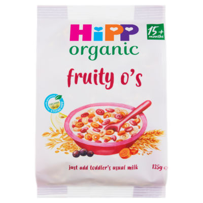 HiPP Organic Fruity O's Cereal 15+ Months