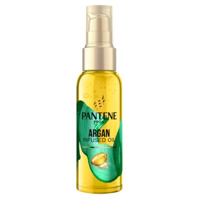 Pantene  Smooth & Sleek Hair Oil, Anti Frizz Argan Oil
