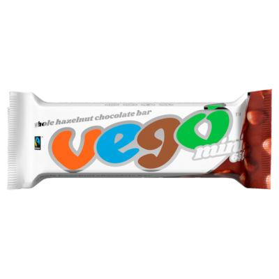 Vego Fairtrade Mini Whole Hazelnut Chocolate Bar