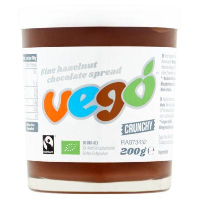 Vego Crunchy Fine Hazelnut Chocolate Spread
