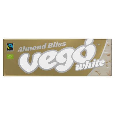 Vego Organic Almond Bliss White Chocolate Bar