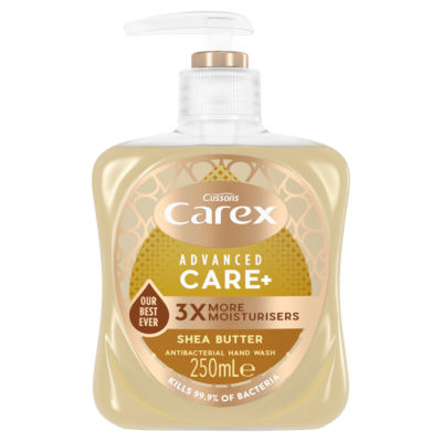 Carex Advanced Care Shea Butter Antibacterial Hand Wash