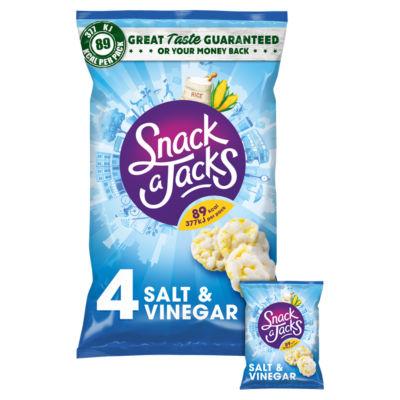 Snack A Jack Salt & Vinegar Multipack Snacks
