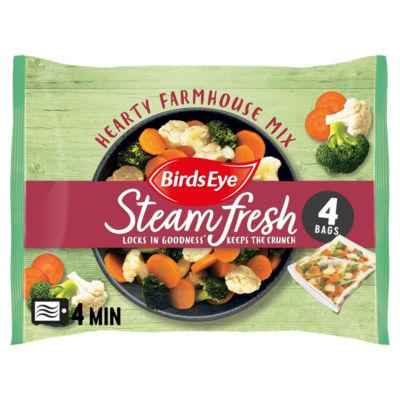 Birds Eye 4 Hearty Farmhouse Steamfresh Vegetable Mix