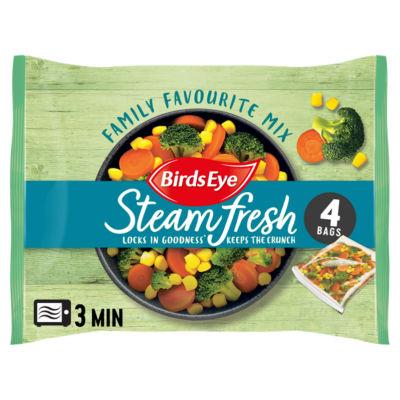Birds Eye 4 Family Favourite Steamfresh Mix