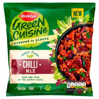 Birds Eye Green Cuisine Meat Free Chilli Mix