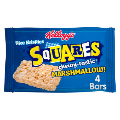 Kellogg's Rice Krispies Squares Chewy Marshmallow Bar
