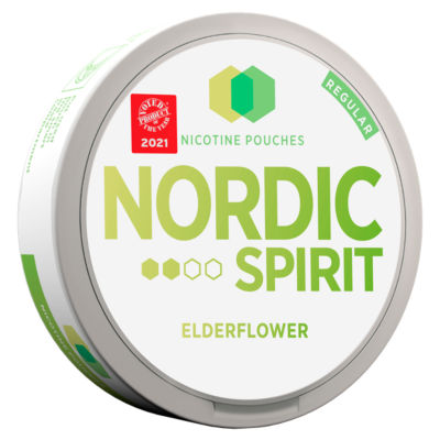 Nordic Spirit Nicotine Pouches Elderflower 6mg
