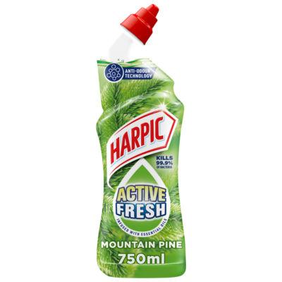 Harpic Active Fresh Toilet Cleaner Gel, Pine Scent