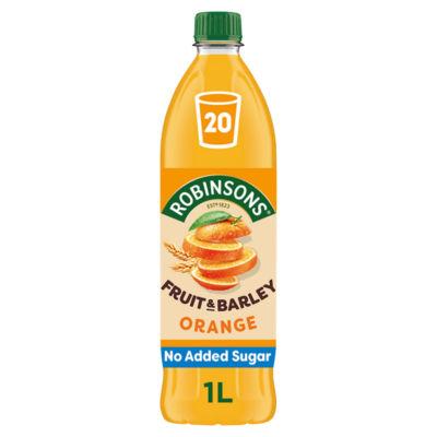 Robinsons Fruit & Barley Orange Squash No Added Sugar