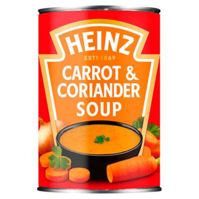 Heinz Carrot & Coriander Soup