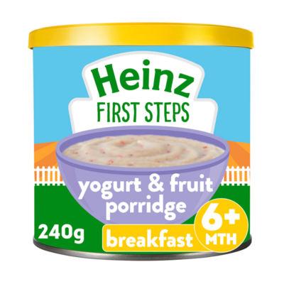 Heinz Fruit & Yogurt Baby Porridge 6+ Months