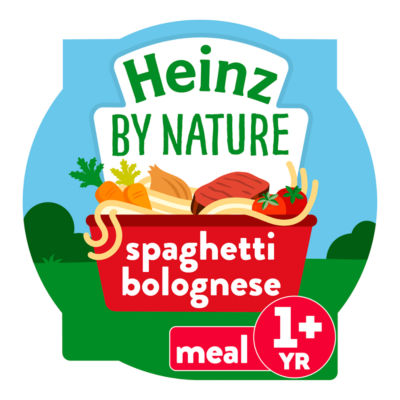 Heinz By Nature Spaghetti Bolognese 12+ Months