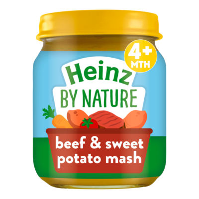 Heinz By Nature Beef & Sweet Potato Mash 4+ Months