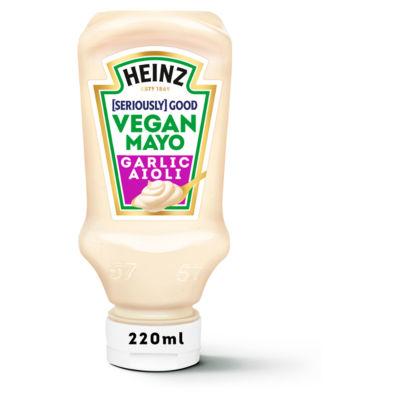Heinz Seriously Good Vegan Garlic Aioli Mayo