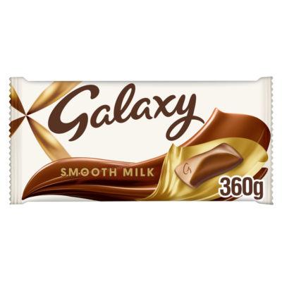 Galaxy Smooth Milk Chocolate Large Gifting Block Bar