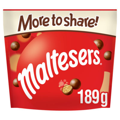Maltesers Chocolate More to Share Pouch Bag