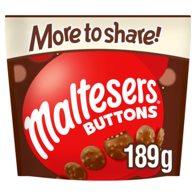 Maltesers Buttons Chocolate More to Share Pouch Bag