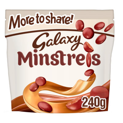 Galaxy Minstrels Chocolate More to Share Pouch Bag