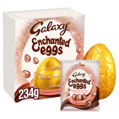 Galaxy Enchanted Eggs Large Chocolate Easter Egg 234g