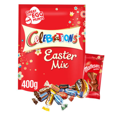 Celebrations Chocolate Easter Sharing Pouch Bag