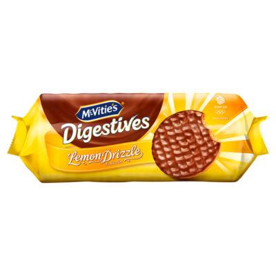 McVitie's Chocolate Digestives Lemon Drizzle Flavour