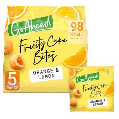Go Ahead! Go Ahead Fruity Cake Bites Orange & Lemon