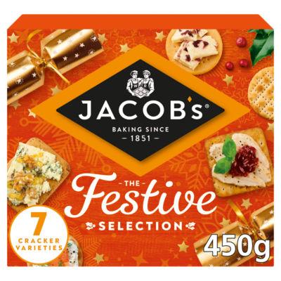 Jacob's The Festive Selection Christmas Crackers
