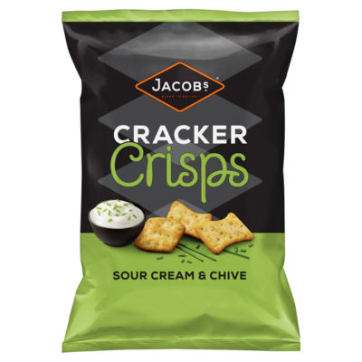 Jacob's  Sour Cream & Chive Sharing Cracker Crisps