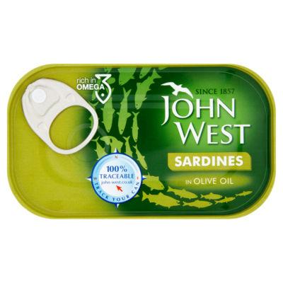 John West Sardines in Olive Oil