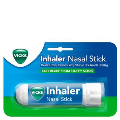 Vicks Inhaler Fast Acting Medicine For Blocked Nose Relief Stick