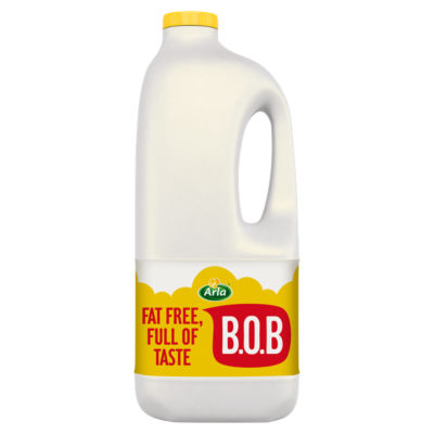 Arla BOB Fat Free Skimmed Milk