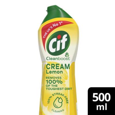 Cif Multipurpose Cream Cleaner Lemon