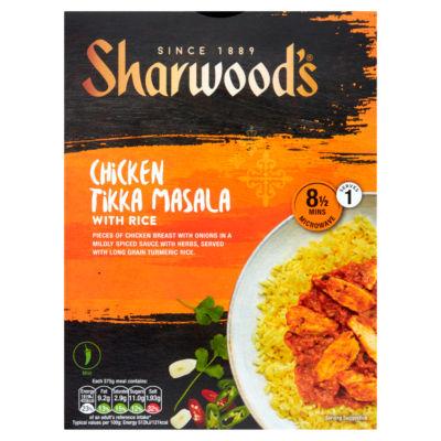 Sharwood's Chicken Tikka Masala with Rice