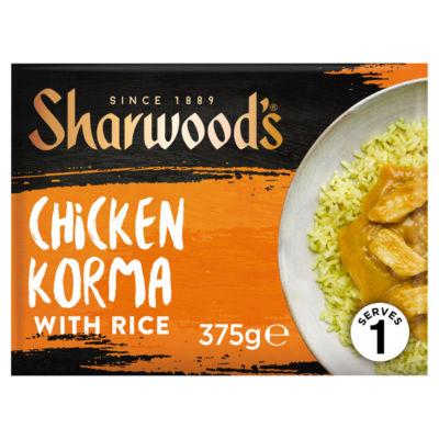 Sharwood's Chicken Korma with Rice