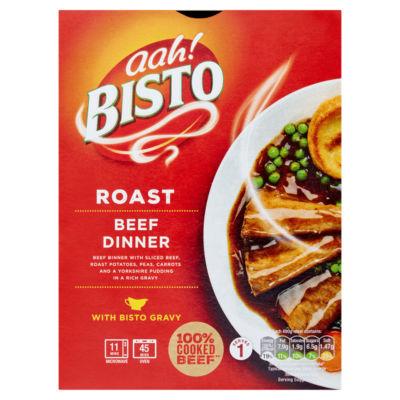 Bisto Roast Beef Dinner