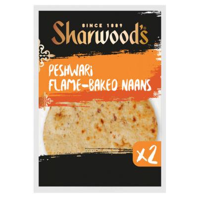 Sharwood's 2 Peshwari Flame Baked Naans