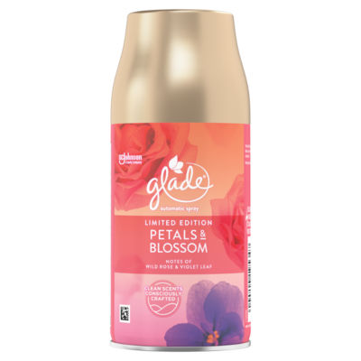 Glade Automatic Spray Petals & Blossom Automatic Air Freshener Refill