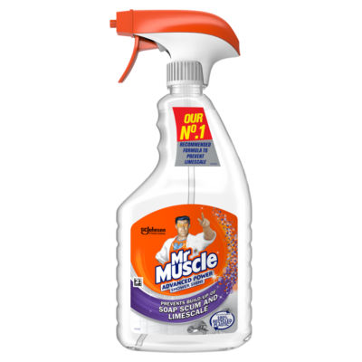 Mr Muscle Shower Shine Cleaner Advanced Power